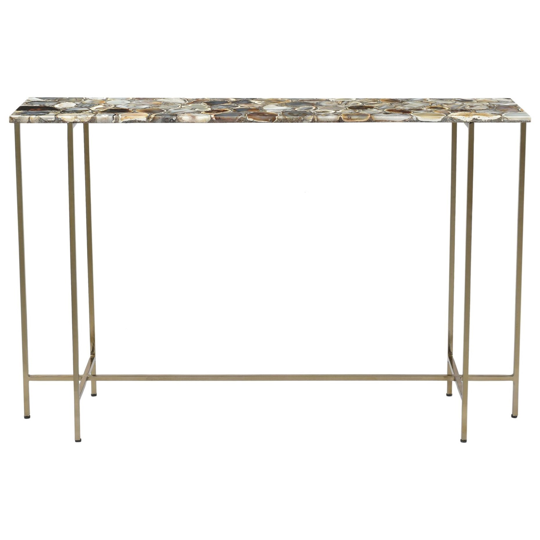 Agate Console Table by Moe's Home Collection at Fashion Furniture