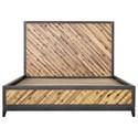 Moe's Home Collection Almada Queen Acacia Platform Bed - Item Number: VX-1045-37