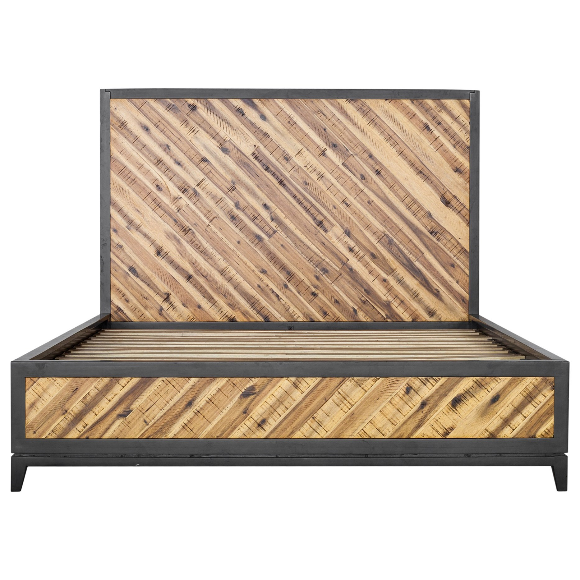 King Acacia Platform Bed