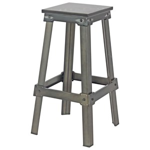 Moe's Home Collection Amelie Steel Bistro Bar Stool