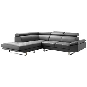 Moe's Home Collection Andreas  Sectional Left Grey