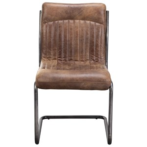 Moe's Home Collection Ansel  Dining Chair - Light Brown - M2