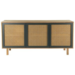 Woven Cane Sideboard