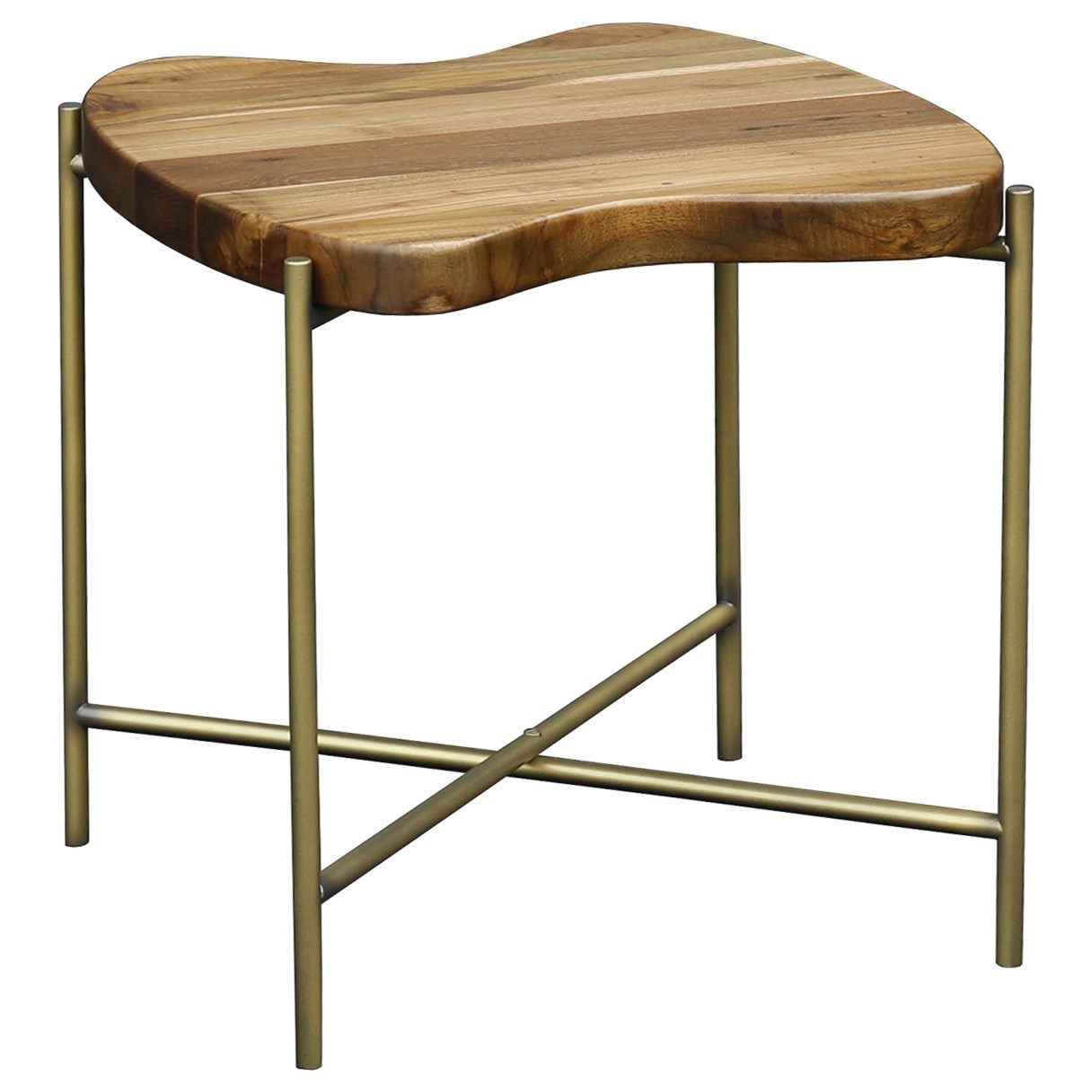 Solid Teak Side Table