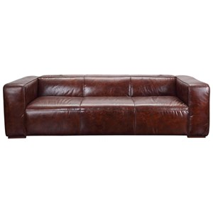 Top Grain Leather Sofa