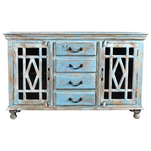 Moe's Home Collection Bonneville Accent Chest with Two Doors