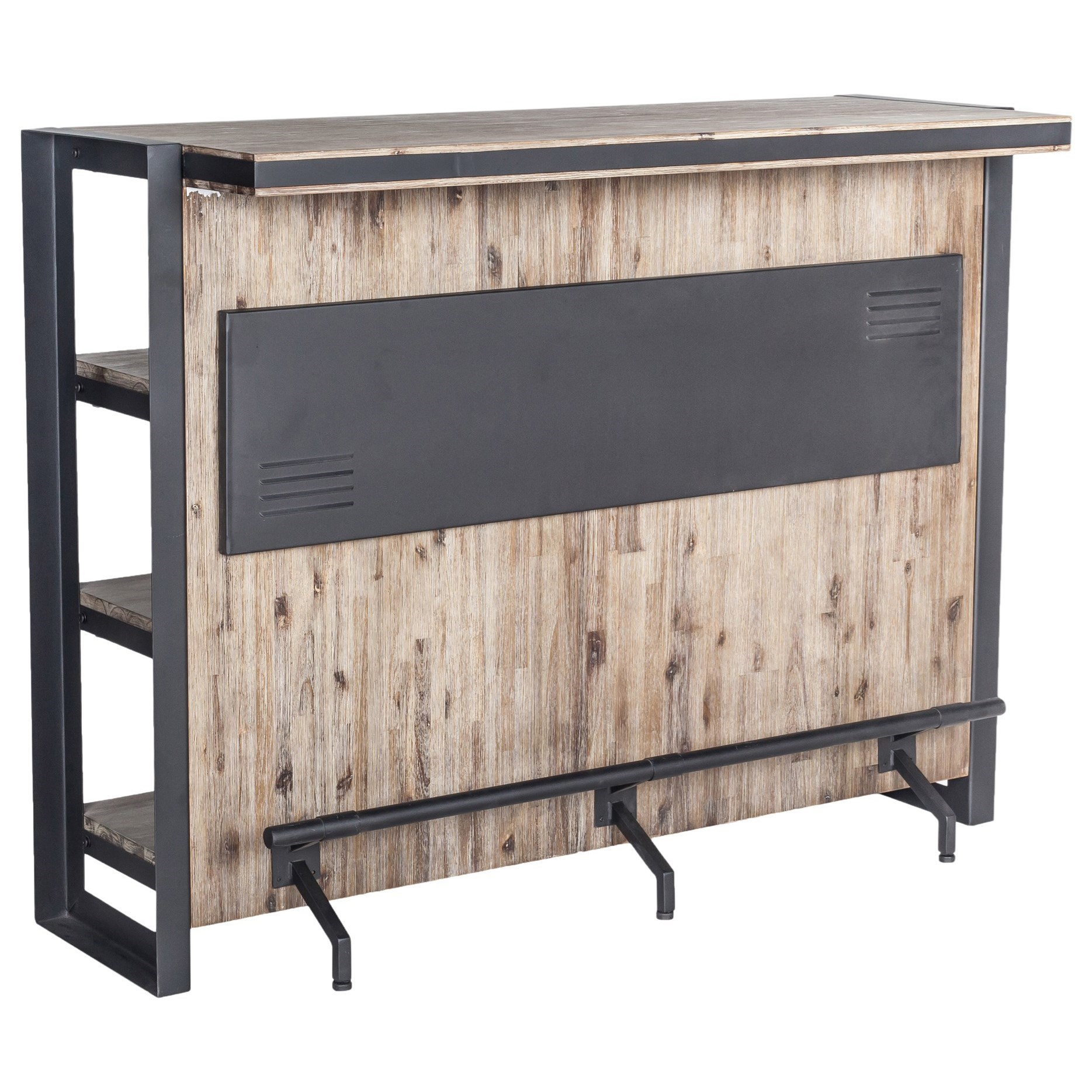 Industrial Home Bar
