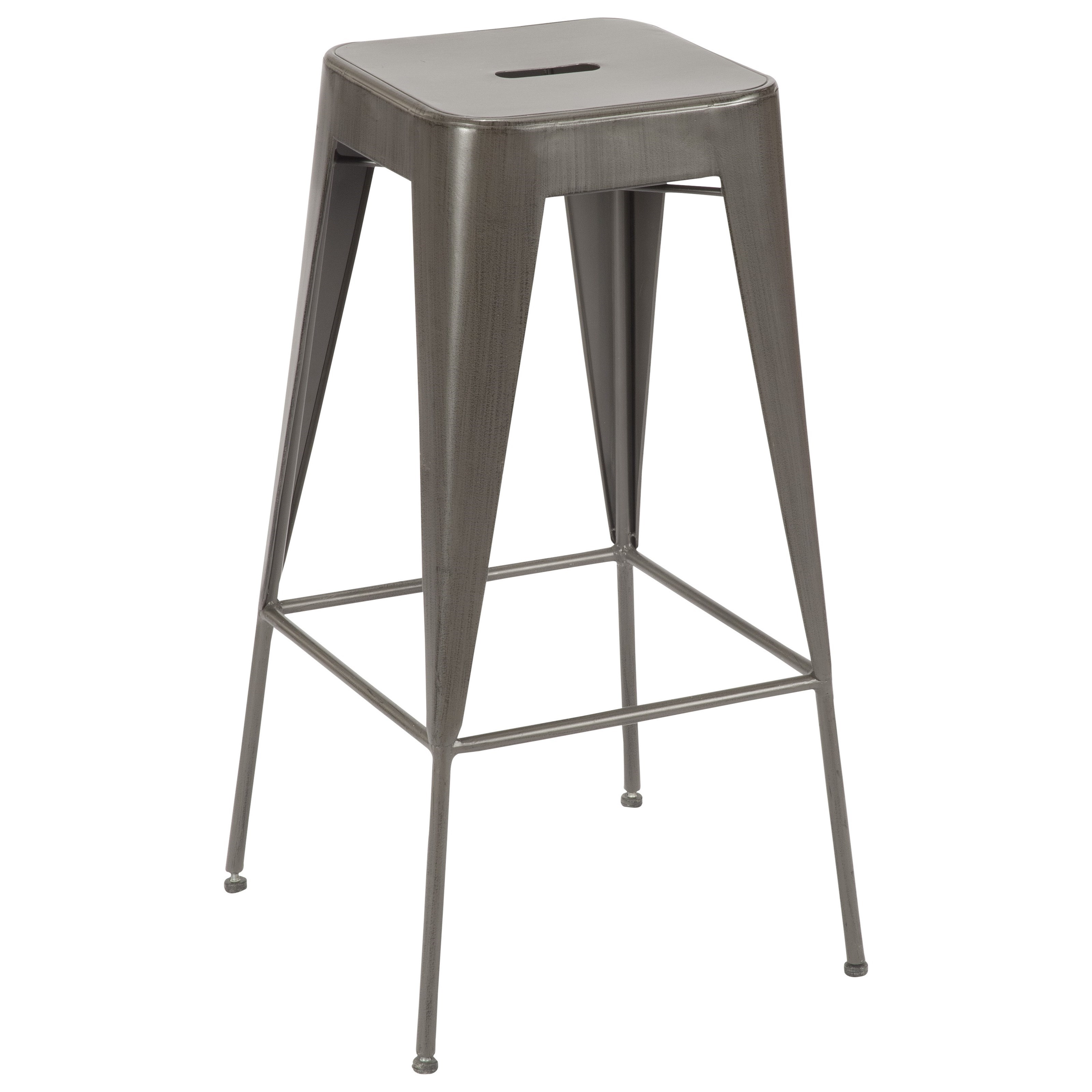 Moe's Home Collection Brooklyn Metal Bar Stool  - Item Number: WN-1007-20