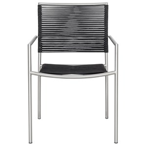 Set of Four Outdoor Dining Chairs