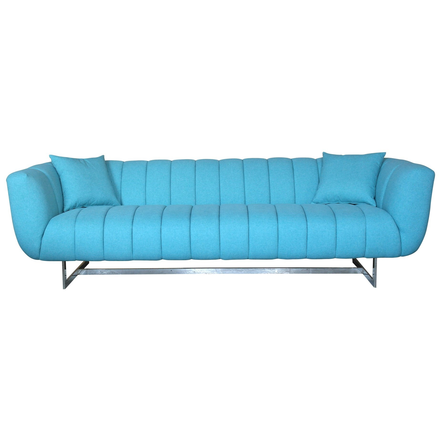 Channel-Tufted Sofa