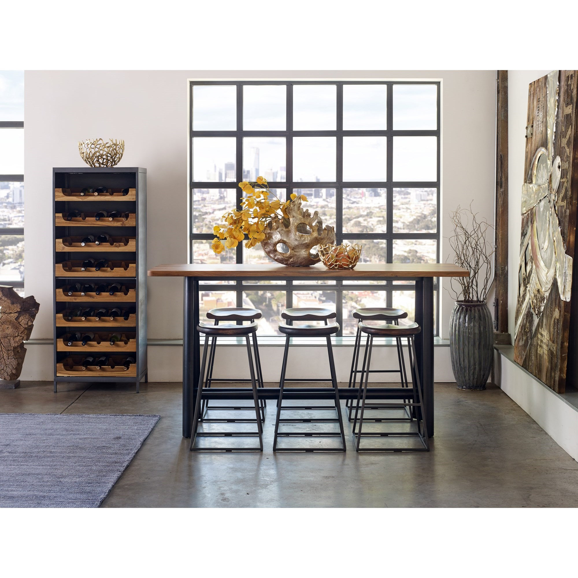 Craftsman Bar Table by Moe's Home Collection at Stoney Creek Furniture