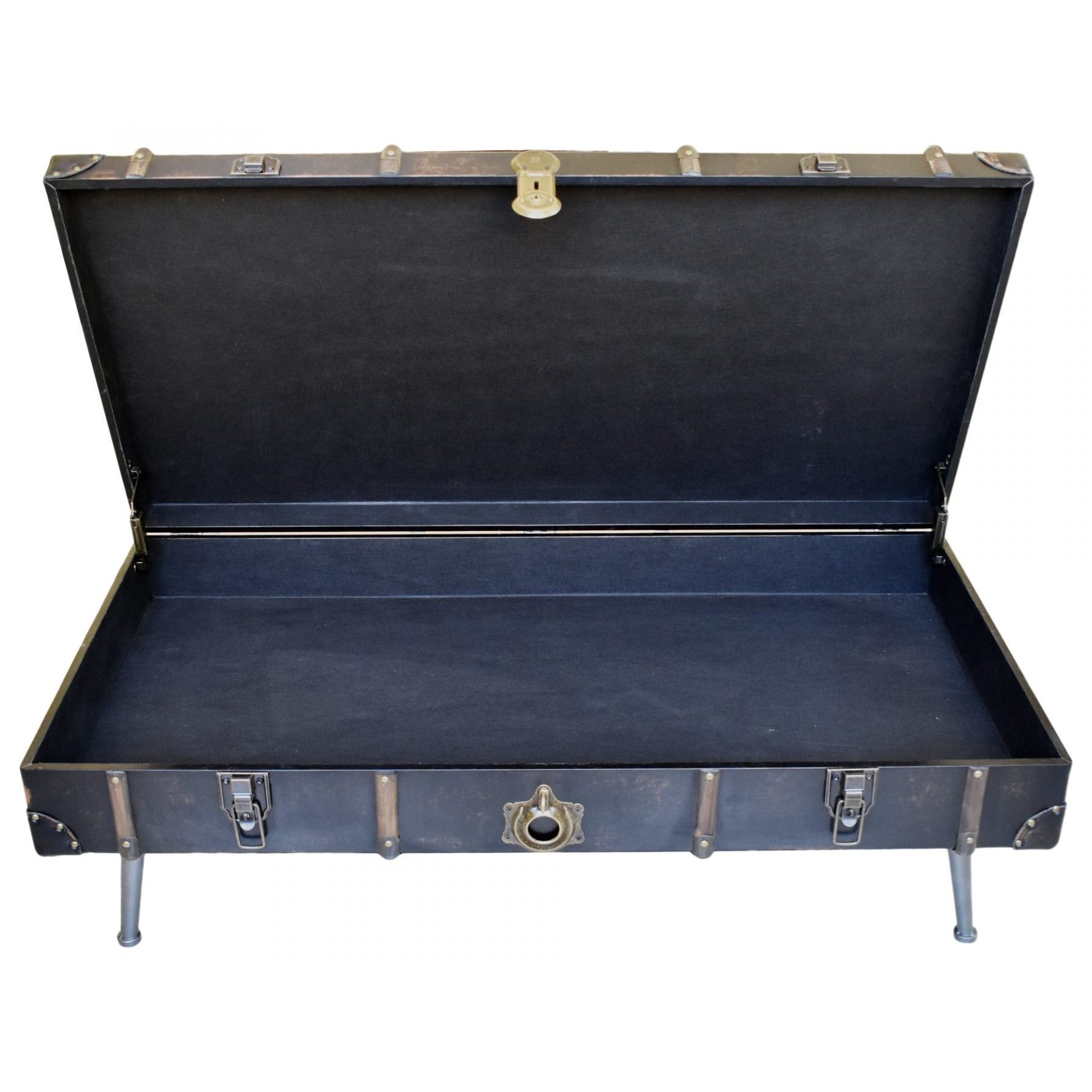 Moe's Home Collection Davy Jones Suitcase Campaign Chest
