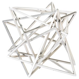 Moe's Home Collection Decorative Accessories Star Wire Sculpture