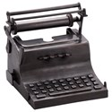 Moe's Home Collection Decorative Accessories Typewriter Sculpture Antique Copper - Item Number: NM-1041-50
