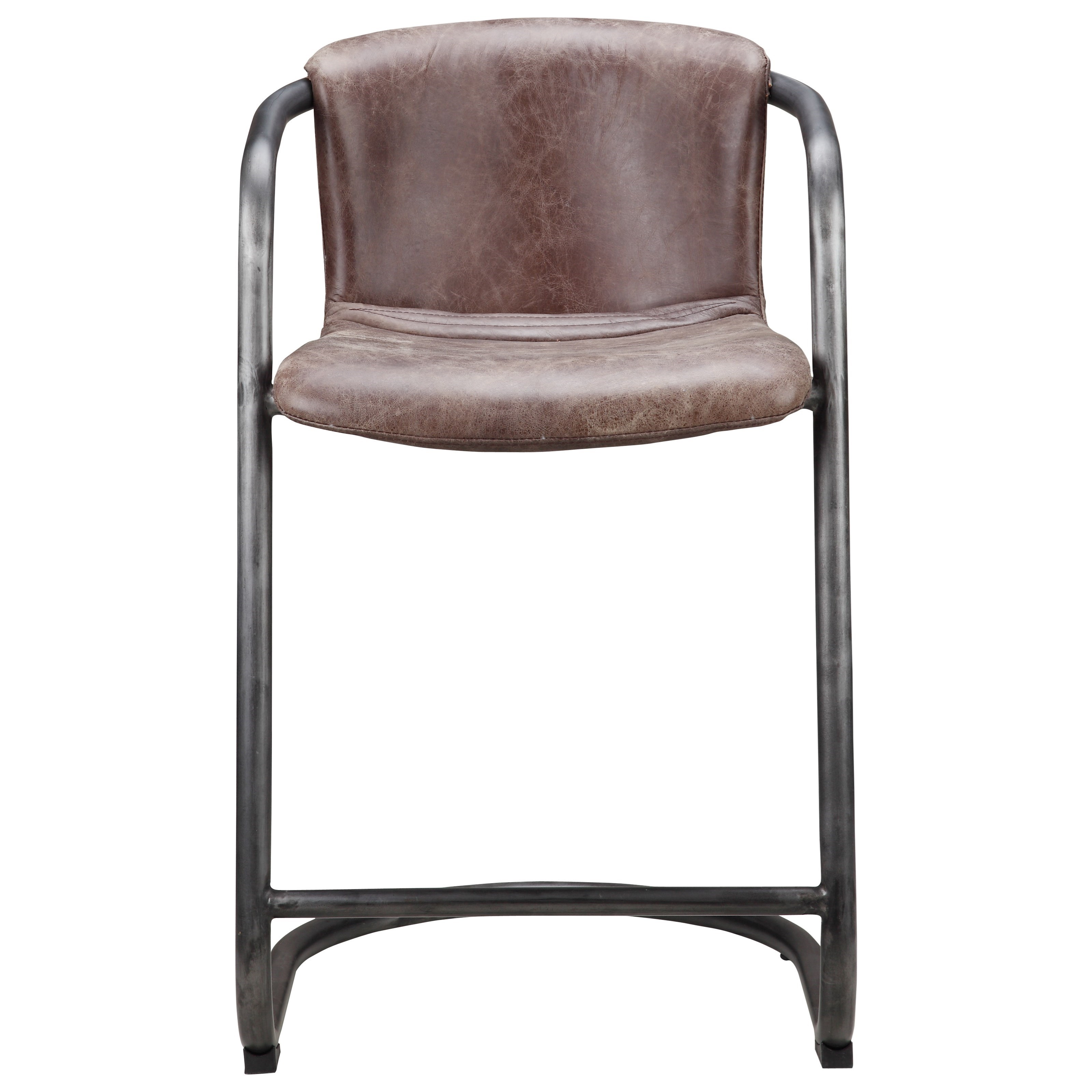 moe's home collection dining chairs freeman counter stool  stoney  - moe's home collection dining chairs freeman counter stool  item numberpk