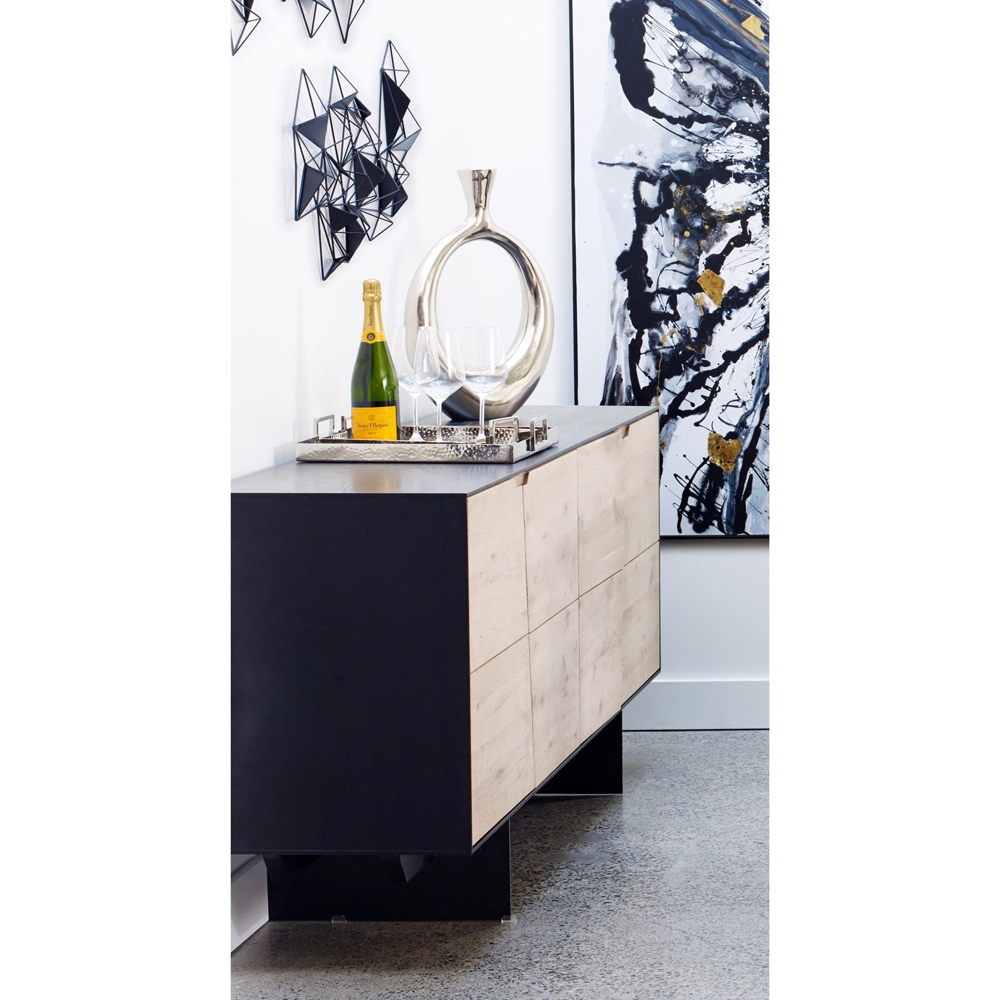 Instinct Sideboard by Moe's Home Collection at Stoney Creek Furniture