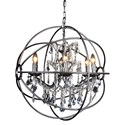 Moe's Home Collection Lighting Adelina Pendant Lamp -  Large - Item Number: RM-1011-20