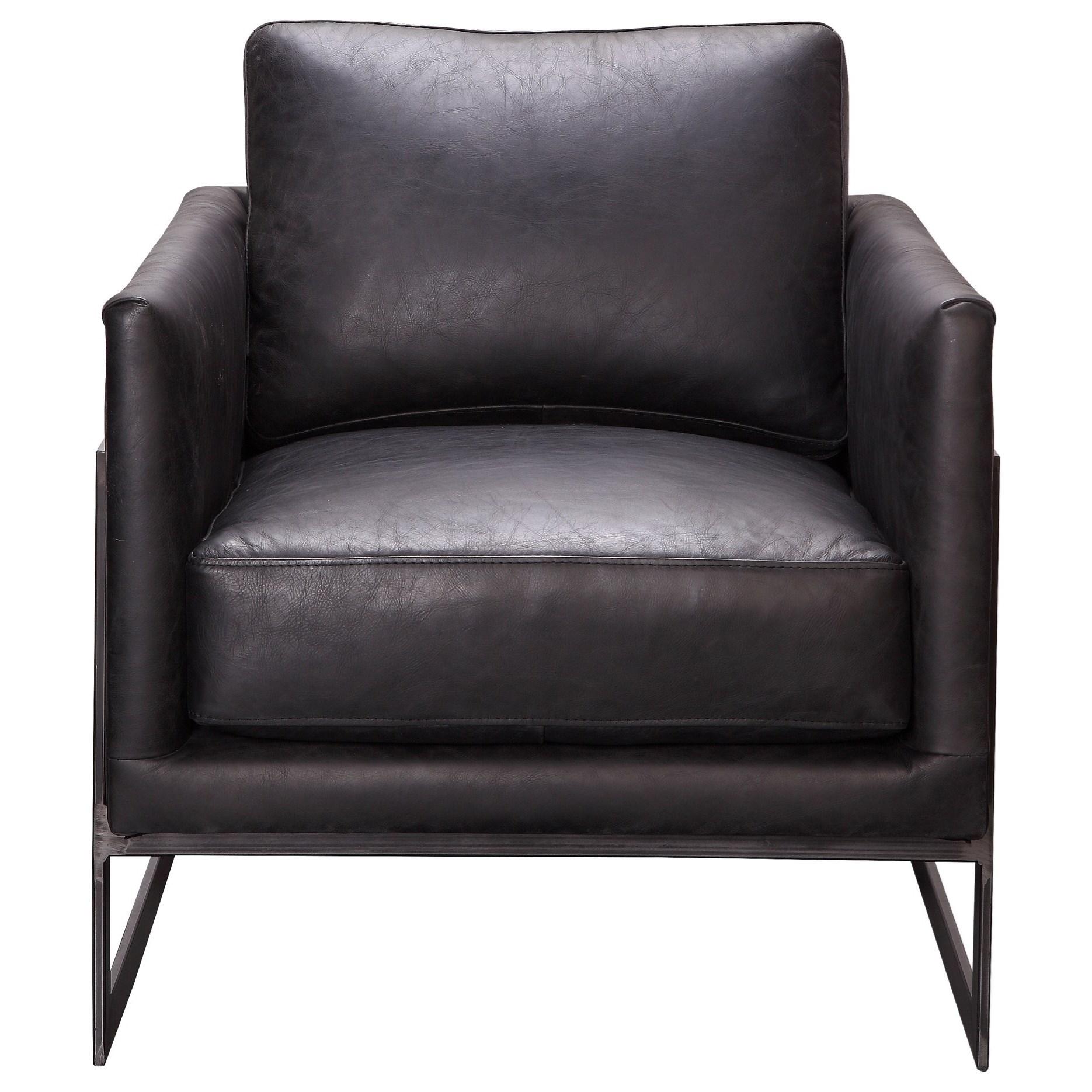 Club Chair Black