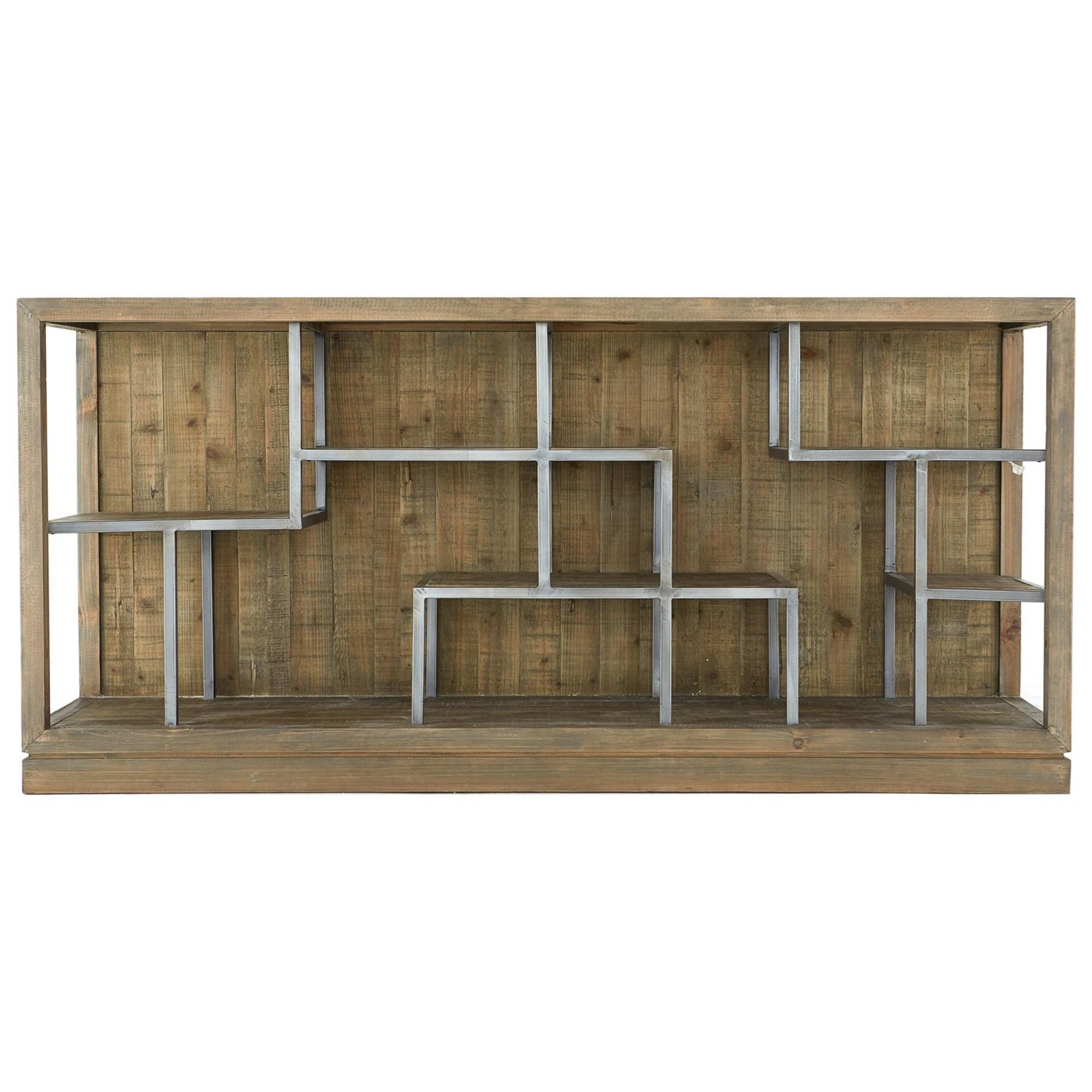 Horizontal Display Shelf