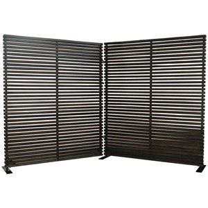 Moe's Home Collection Mirrors and Screens Damani Screen Black
