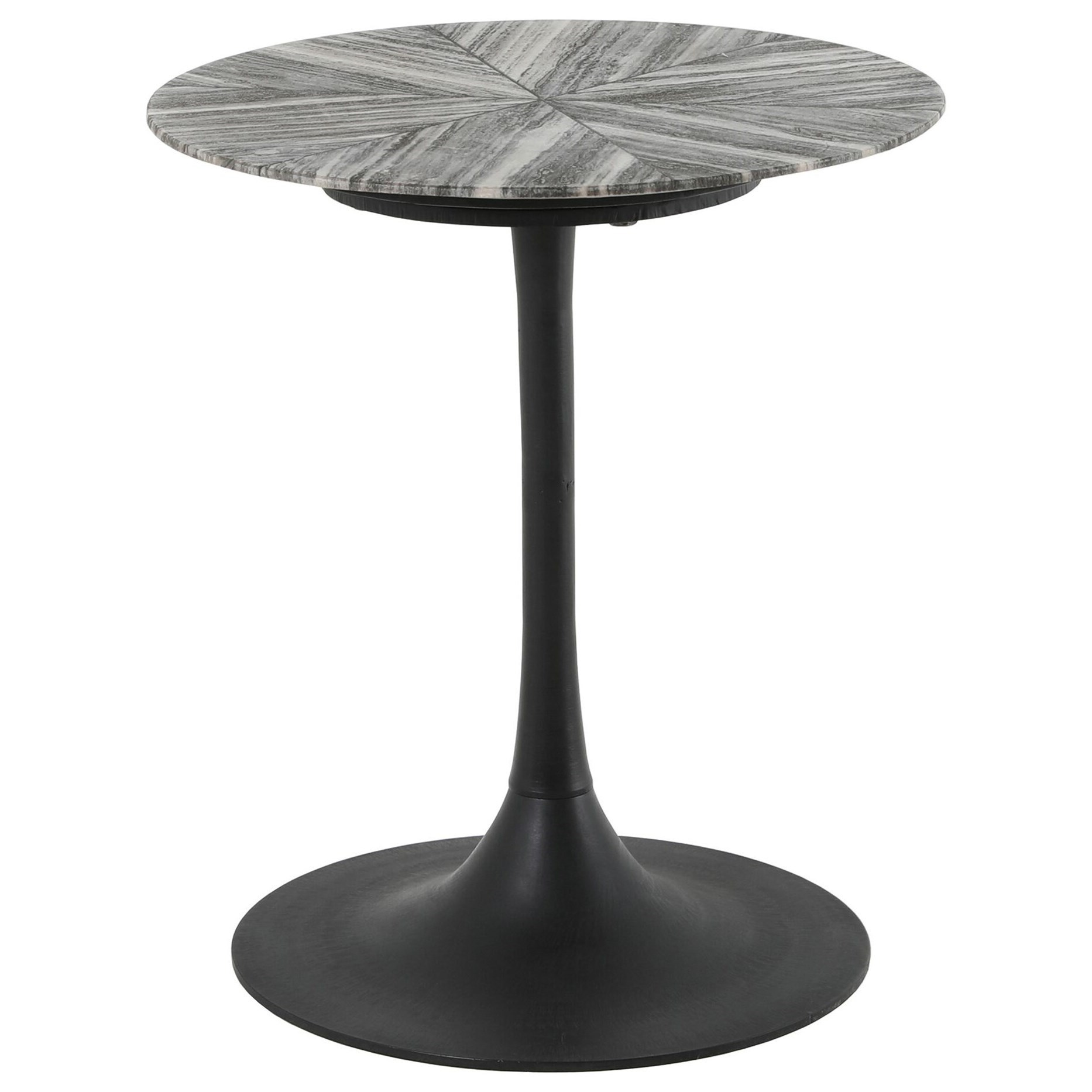 Nyles Marble Accent Table by Moe's Home Collection at Stoney Creek Furniture