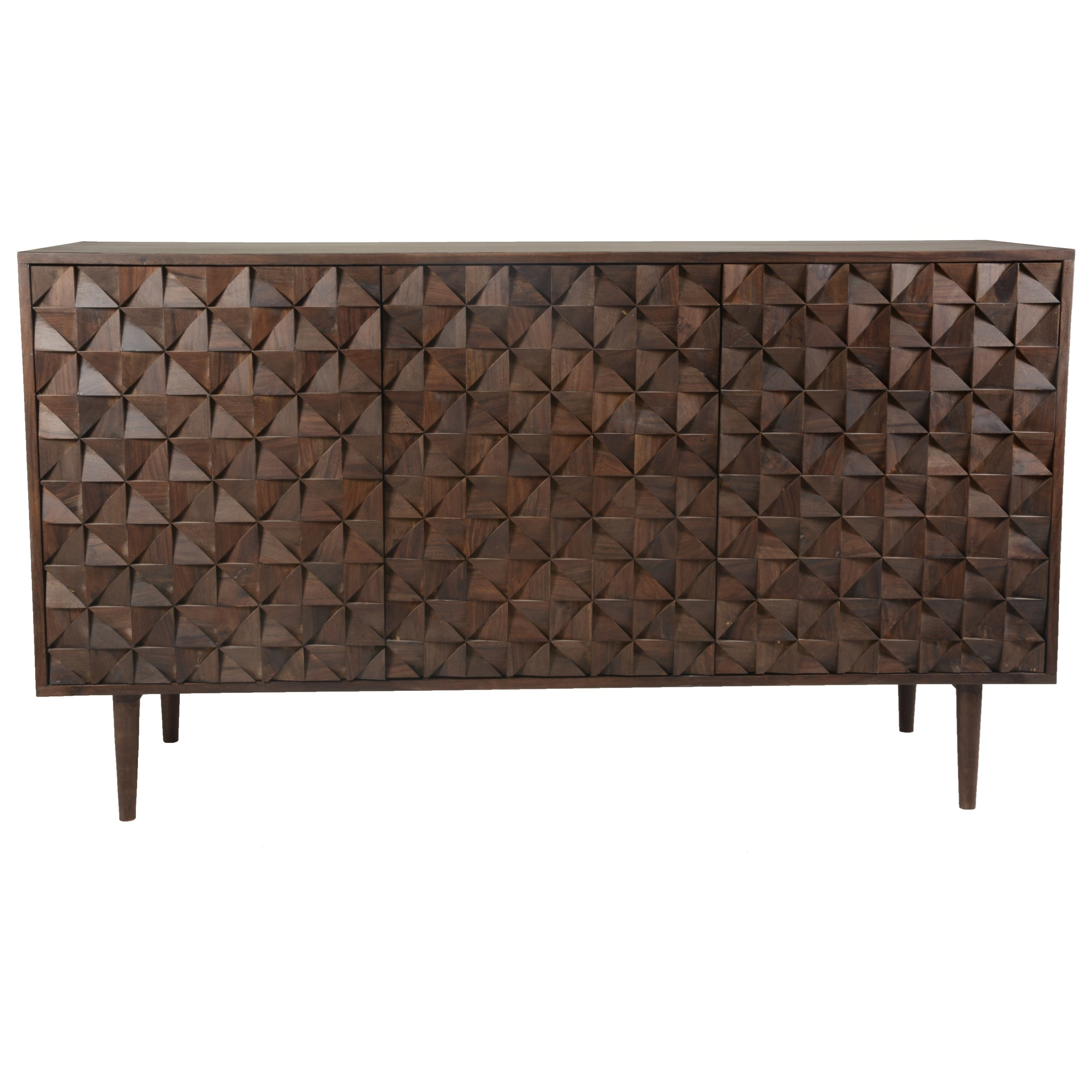 Pablo  3 Door Sideboard  by Moe's Home Collection at Stoney Creek Furniture