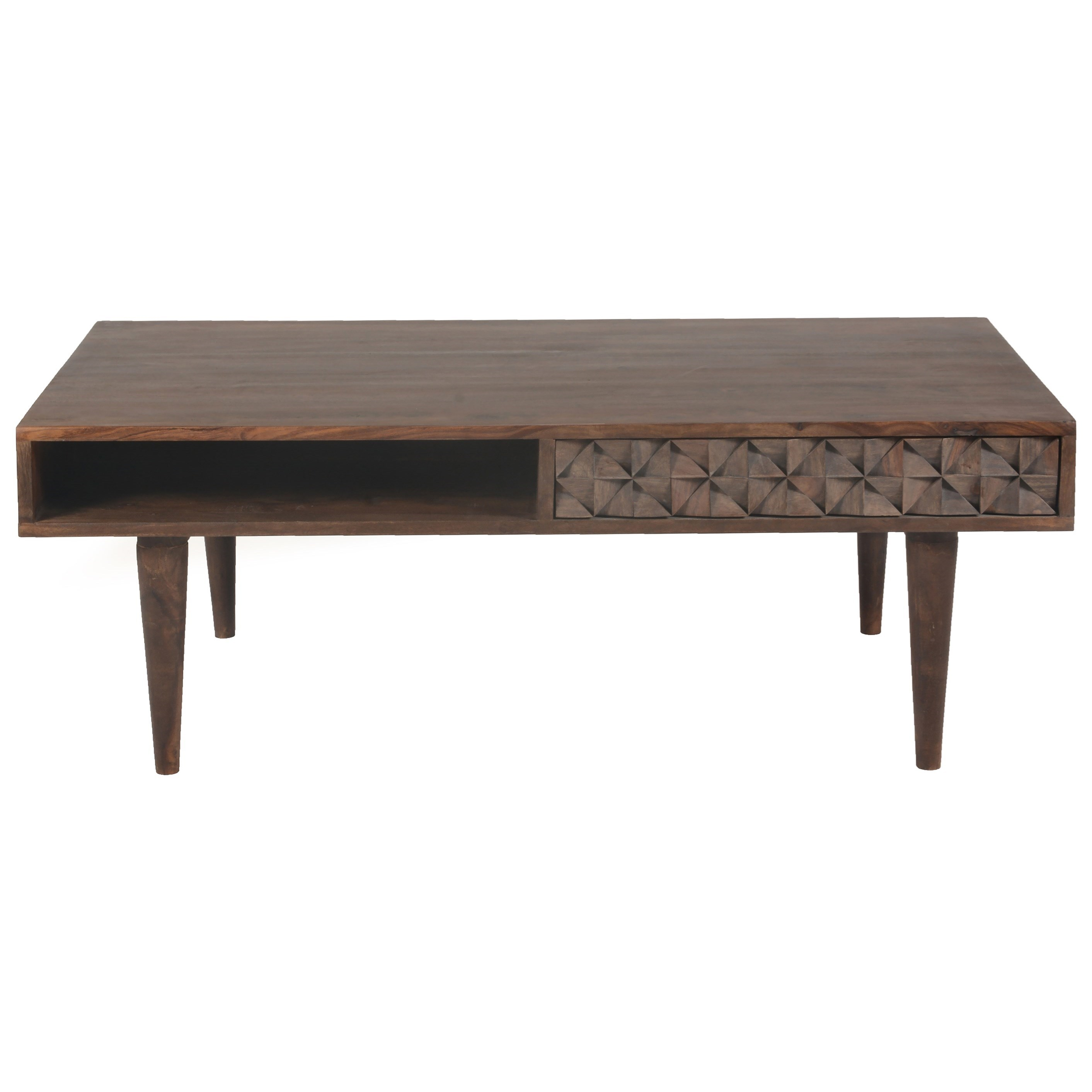 Moe's Home Collection Pablo  2 Drawer Coffee Table - Item Number: BZ-1041-03