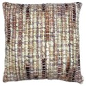 Moe's Home Collection Pillows and Throws Sasha Feather Cushion Pink 20X20 - Item Number: OX-1025-33