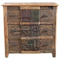 Moe's Home Collection Printer Chest of Drawers - Item Number: BX-1022-24