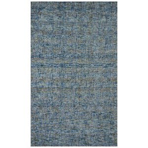 Moe's Home Collection Rugs Flamenco Rug 5X8 Blue Dream