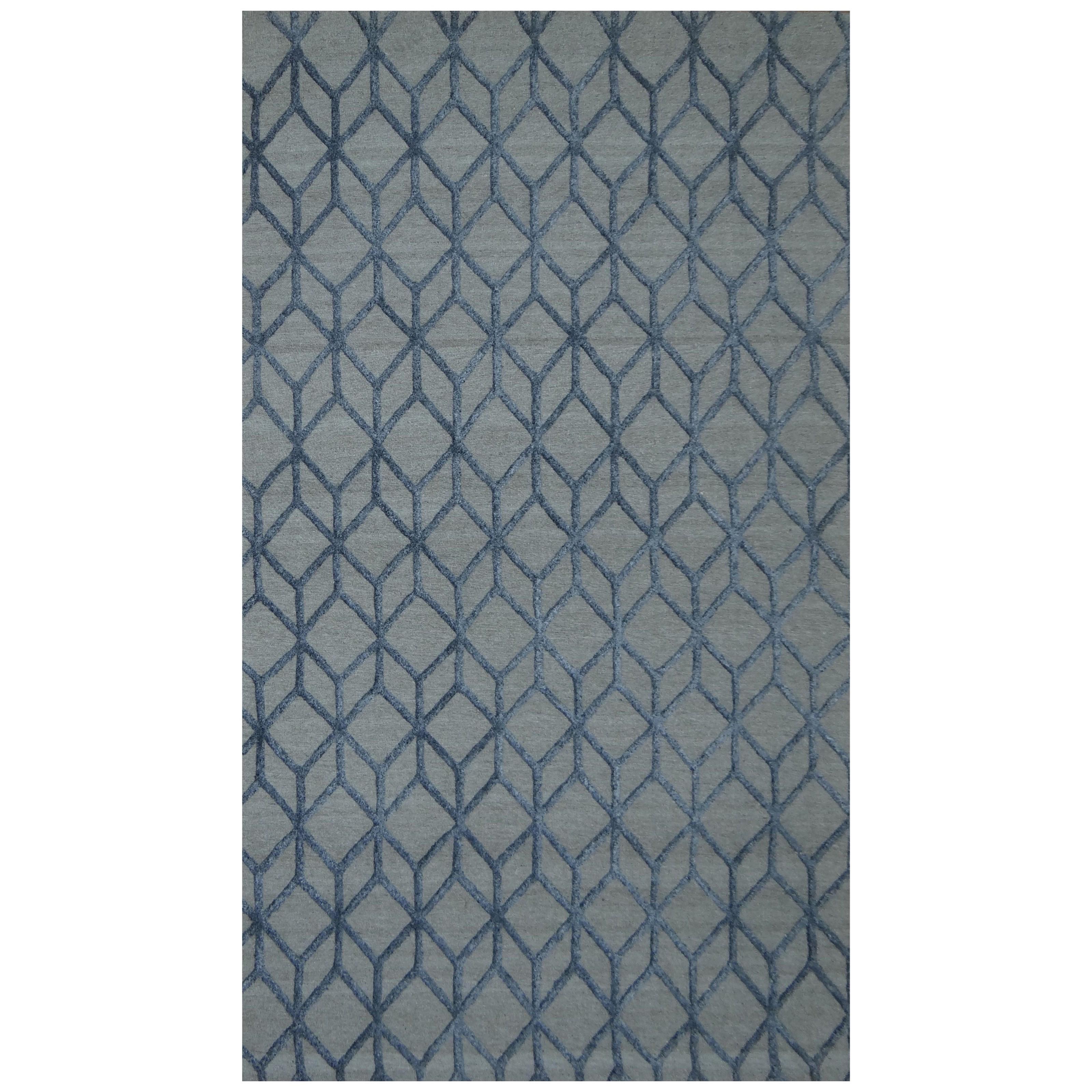 Moe S Home Collection Rugs Rhumba Rug 8x10 Cadet Grey