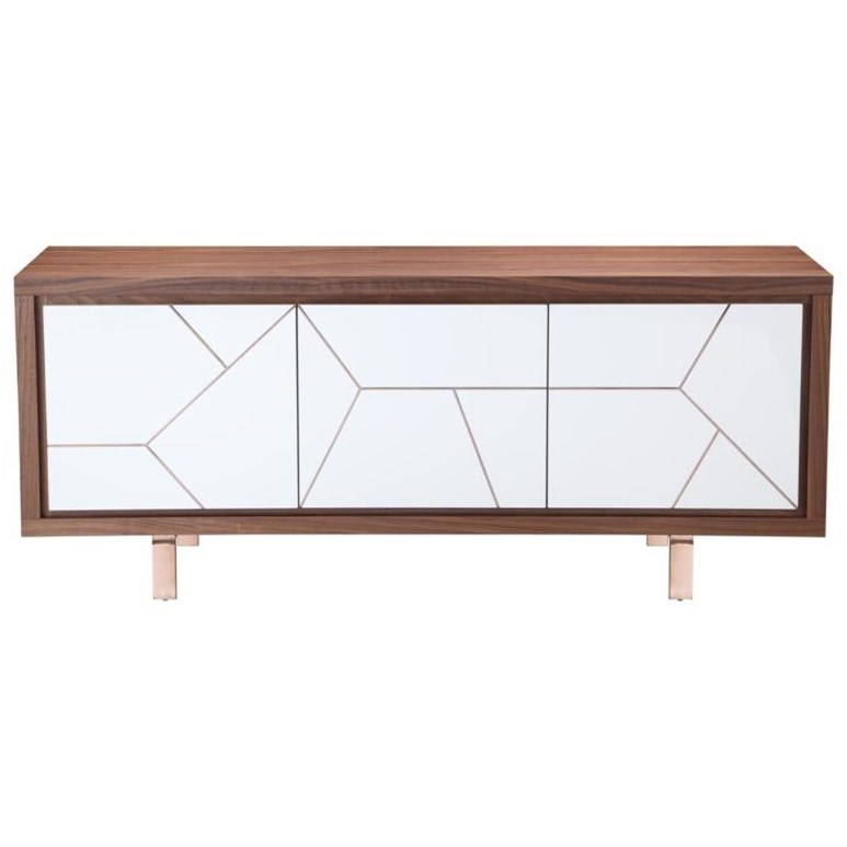 Moe's Home Collection Sideboards and Buffets Trapeze Sideboard - Item Number: OU-1004-03