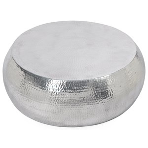 Moe's Home Collection Tabla Coffee Table Silver