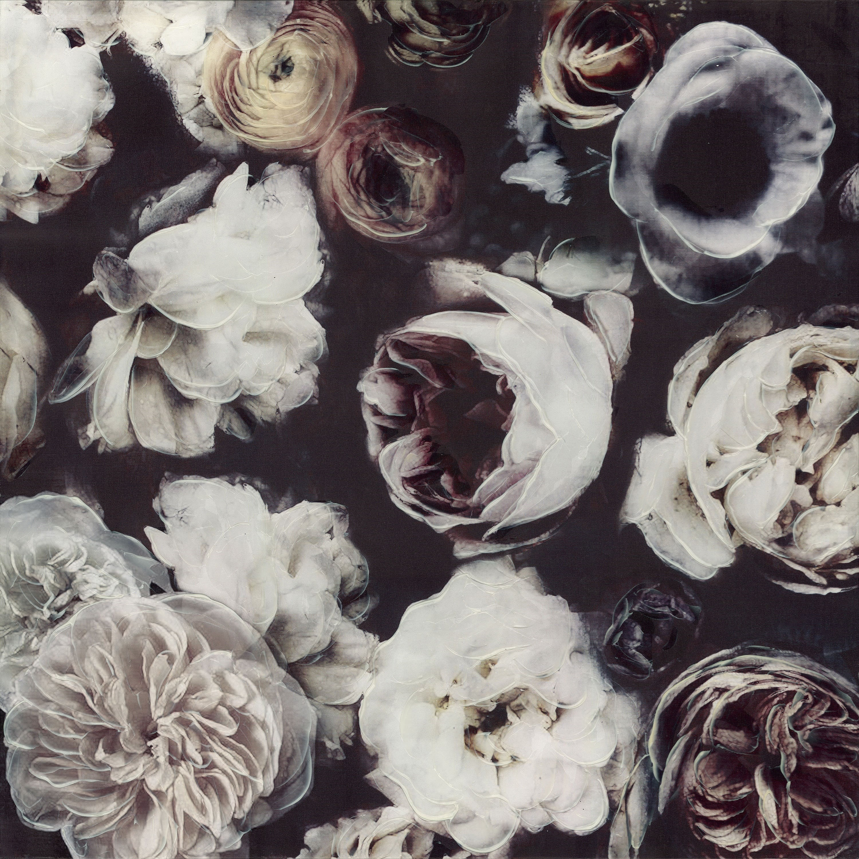Floral Collage Wall Decor