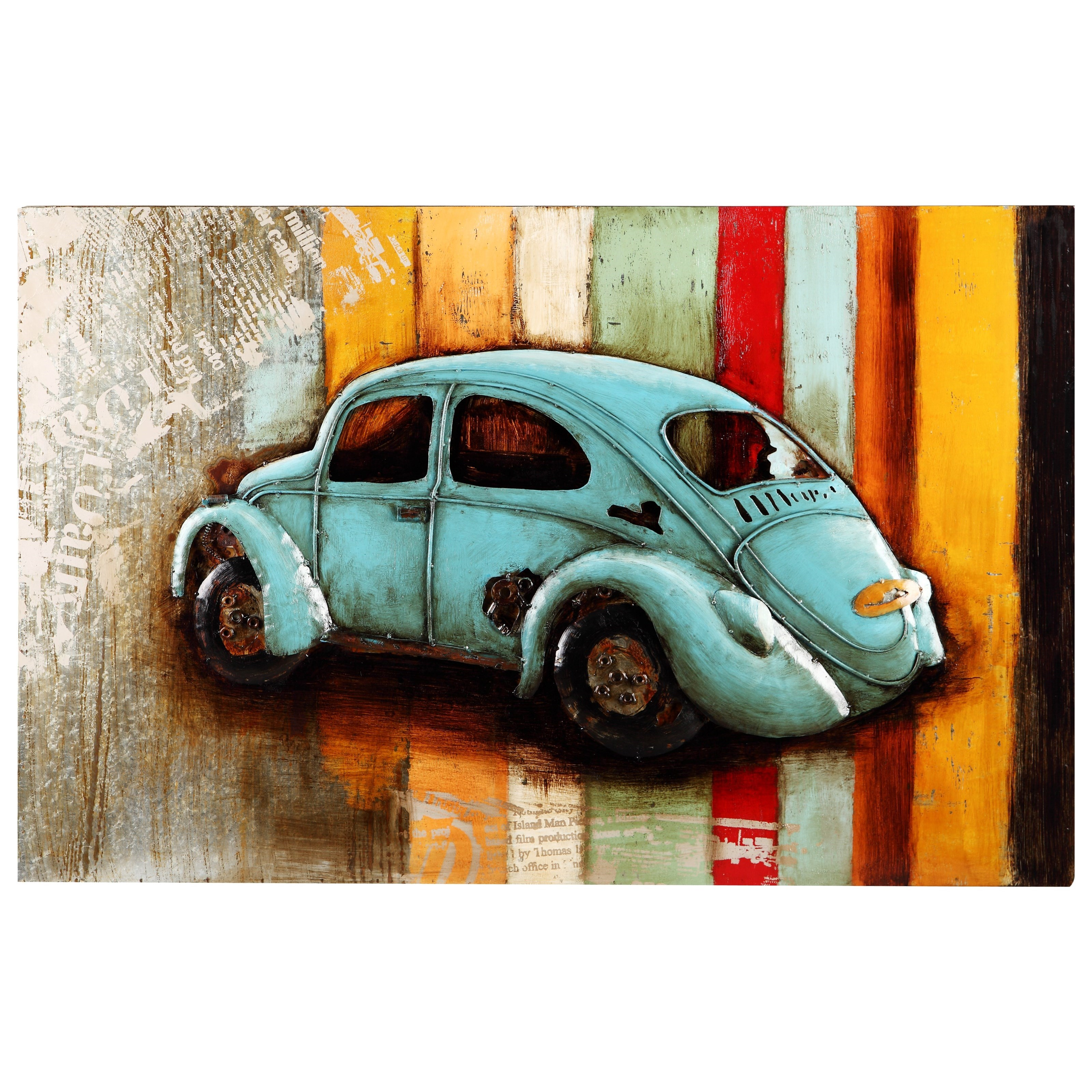 Moe's Home Collection Wall Décor Vintage Beetle Wall Décor - Item Number: PR-1007-37