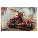 Moe's Home Collection Wall Décor Motorcycle Mania Wall Décor - Item Number: ZG-1040-37