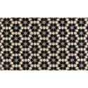 "Momeni  Novogratz Aloha Black Hex Tile 1'6"" x 2'6"" Rug - Item Number: 36859"