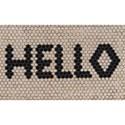 "Momeni  Novogratz Aloha Hello Hex Tile 1'6"" x 2'6"" Rug - Item Number: 39832"