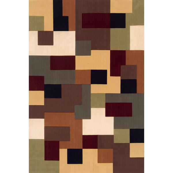 Momeni Eclectic II 9.6 x 13.6 Area Rug : Multi - Item Number: 951116889