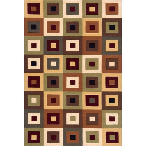 Momeni Eclectic IV 8 x 11 Area Rug : Multi - Item Number: 951116752