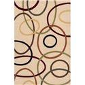Momeni Eclectic IX 5.6 x 8 Area Rug : Ivory - Item Number: 951116233