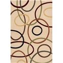 Momeni Eclectic IX 9.6 x 13.6 Area Rug : Ivory - Item Number: 951116283