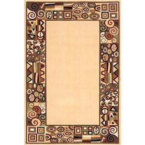 Momeni Eclectic XIV 9.6 x 13.6 Area Rug : Ivory