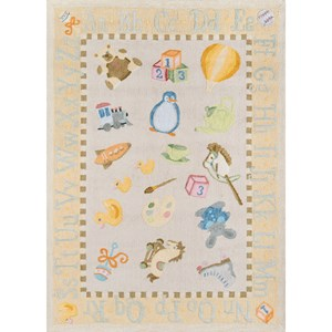 Classic Toys 5' X 7' Rug - Pale Yellow