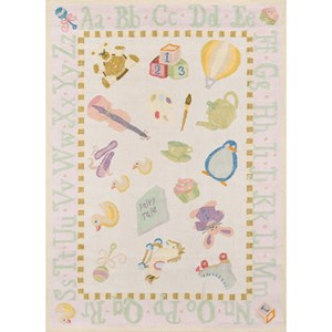 Classic Toys 5' X 7' Rug - Soft Pink