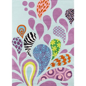 Funky Paisley 8' X 10' Rug - Funky