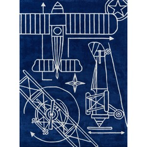 Blueprint 8' X 10' Rug - Navy