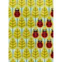 Momeni Lil Mo Whimsey Ladybug Family 8' X 10' Rug - Lady Bug Red - Item Number: 21503