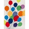 Momeni Lil Mo Whimsey Balloons 8' X 10' Rug - Multi Balloons - Item Number: 21506