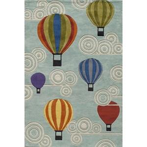 Hot Air Balloon 4' x 6' Rug